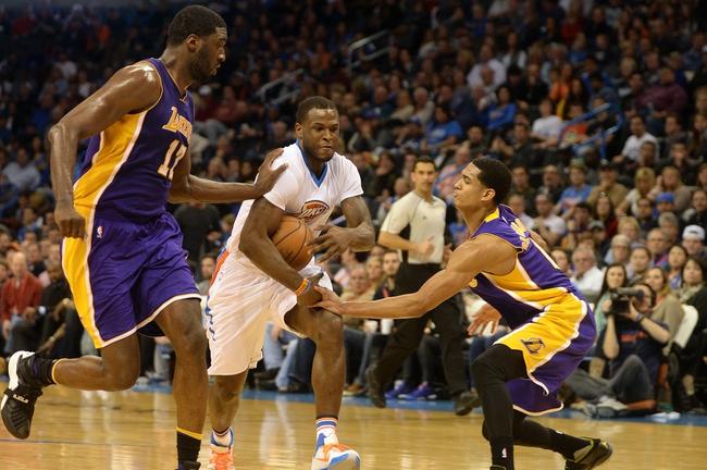 Los Angeles Lakers vs. Oklahoma City Thunder - 12/23/15 NBA Pick, Odds, and Prediction