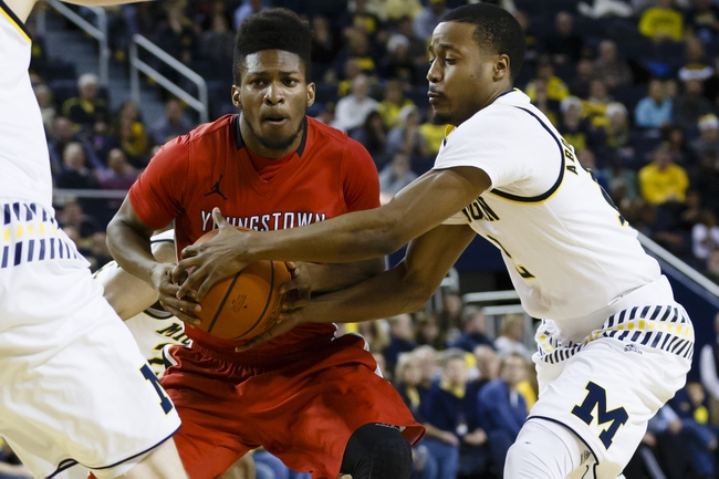 Youngstown State vs. Canisius - 11/26/16 College Basketball Pick, Odds, and Prediction