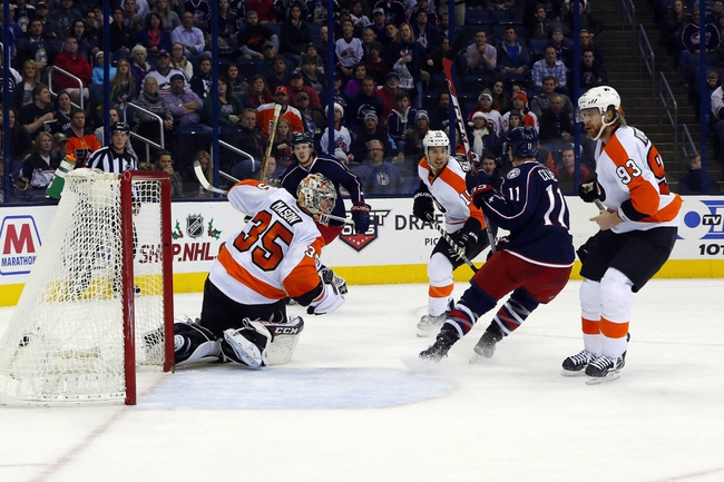 Philadelphia Flyers vs. Columbus Blue Jackets - 3/5/16 NHL Pick, Odds, and Prediction