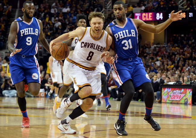 Philadelphia 76ers vs. Cleveland Cavaliers - 1/10/16 NBA Pick, Odds, and Prediction