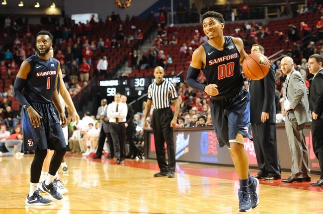 Samford vs. The Citadel - 1/5/16 College Basketball Pick, Odds, and Prediction
