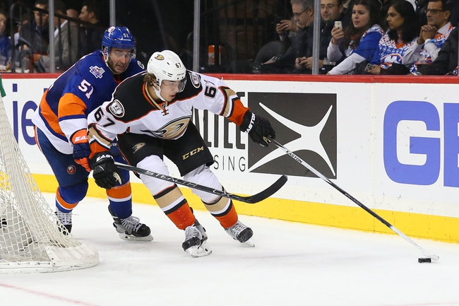 Bailey's OT goal lifts Islanders past Ducks 3-2