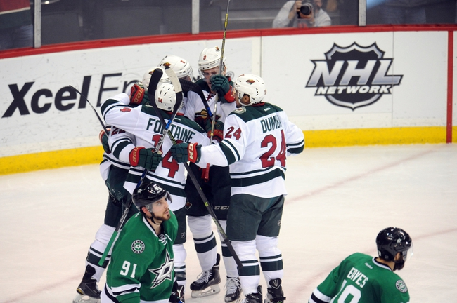 Stars vs. Wild - 1/9/16 NHL Pick, Odds, and Prediction