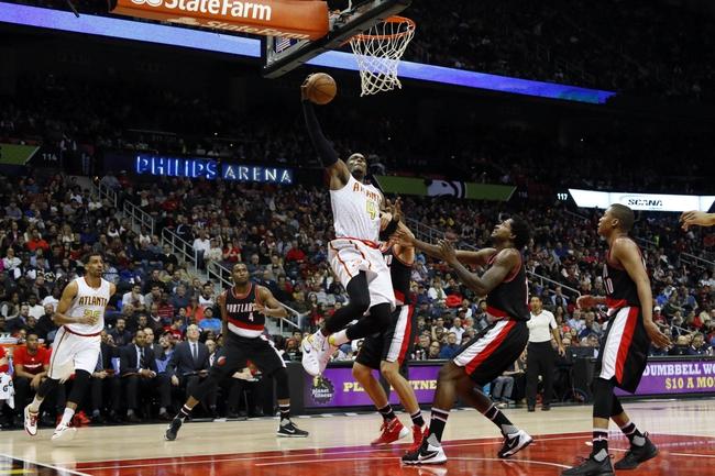 Trail Blazers vs. Hawks - 1/20/16 NBA Pick, Odds, and Prediction