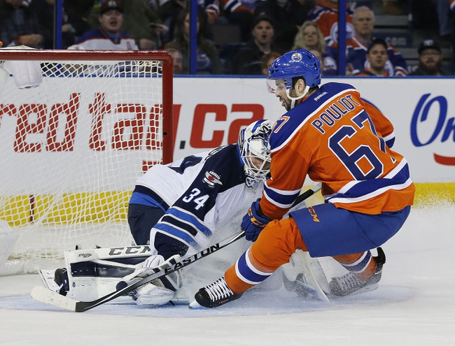 Edmonton Oilers vs. Winnipeg Jets - 2/13/16 NHL Pick, Odds, and Prediction