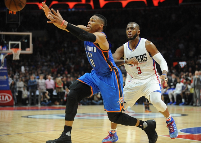 Clippers vs. Thunder - 3/2/16 NBA Pick, Odds, and Prediction