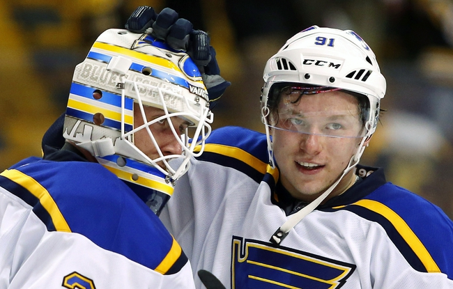 Blues Beat Backes & Bruins 4-2