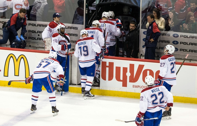 Canadiens vs. Wild - 3/12/16 NHL Pick, Odds, and Prediction
