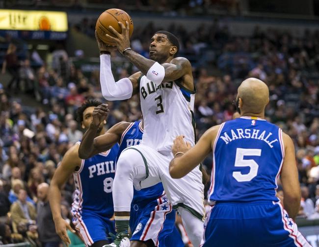 76ers vs. Bucks - 4/10/16 NBA Pick, Odds, and Prediction