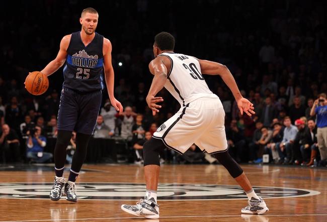 Dallas Mavericks vs. Brooklyn Nets - 1/29/16 NBA Pick, Odds, and Prediction