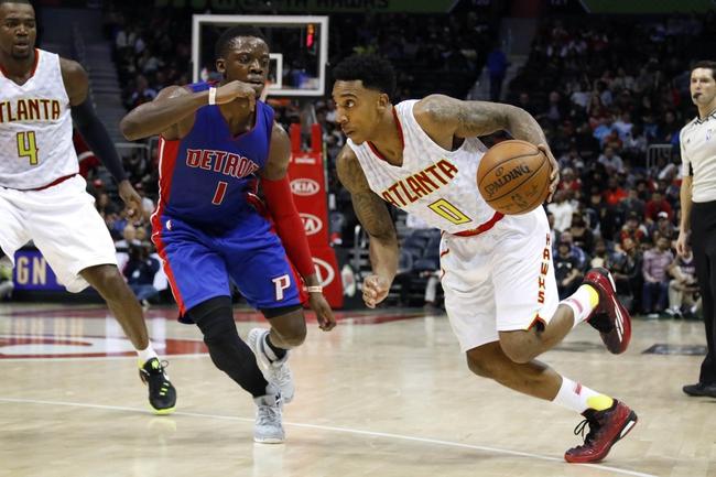 Detroit Pistons vs. Atlanta Hawks - 3/16/16 NBA Pick, Odds, and Prediction
