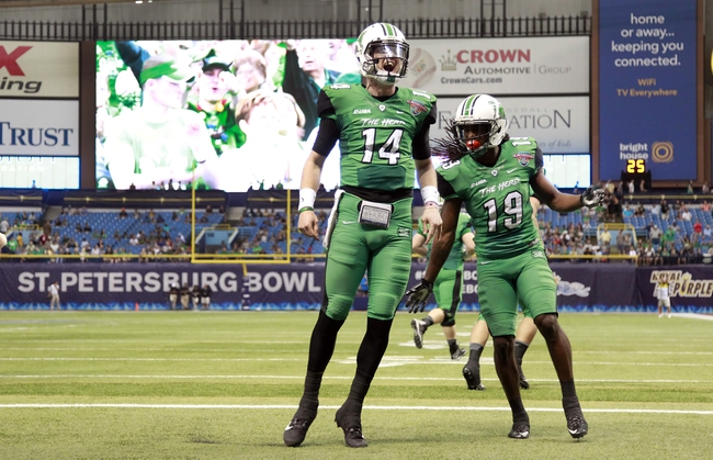 North Texas Mean Green vs. Marshall Thundering Herd - 10/8/16 College Football Pick, Odds, and Prediction
