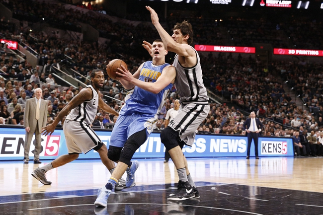 Nuggets vs. Spurs - 4/8/16 NBA Pick, Odds, and Prediction