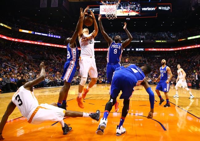 Suns at 76ers - 1/26/16 NBA Pick, Odds, and Prediction