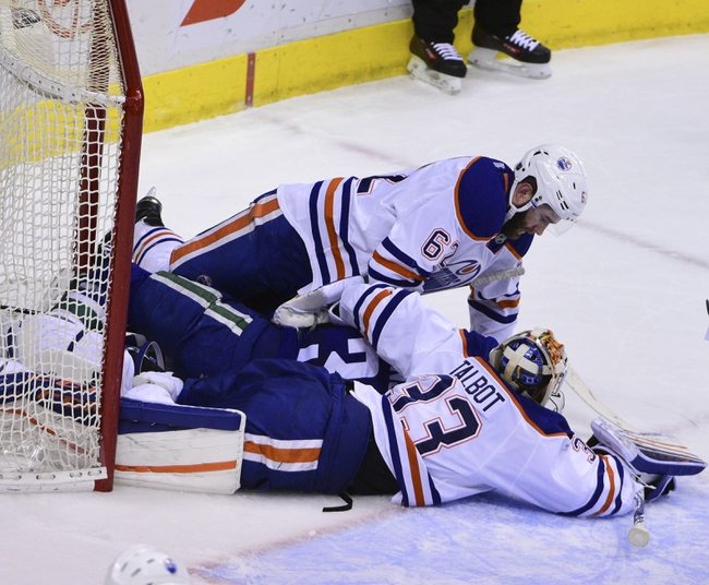 Edmonton Oilers vs. Vancouver Canucks - 3/18/16 NHL Pick, Odds, and Prediction