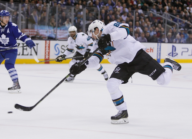 Sharks vs. Maple Leafs - 1/9/16 NHL Pick, Odds, and Prediction
