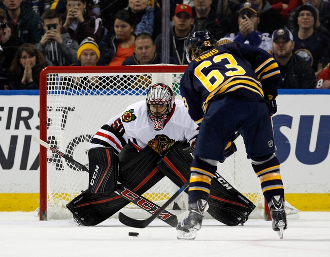 Chicago Blackhawks vs. Buffalo Sabres - 1/8/16 NHL Pick, Odds, and Prediction