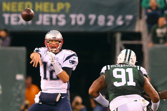 New England Patriots at New York Jets - 11/27/16 NFL Pick, Odds, and Prediction