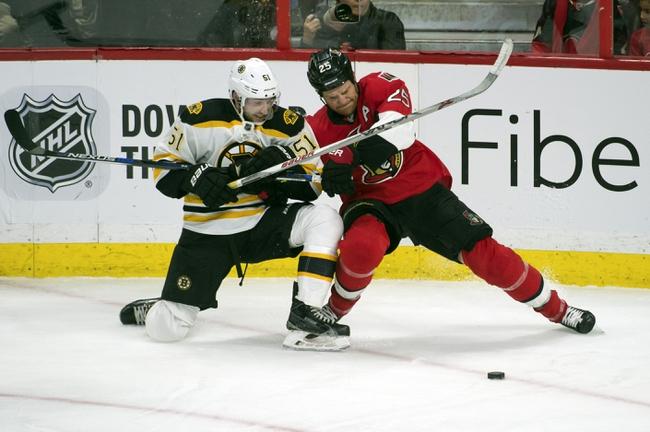 Boston Bruins vs. Ottawa Senators - 12/29/15 NHL Pick, Odds, and Prediction