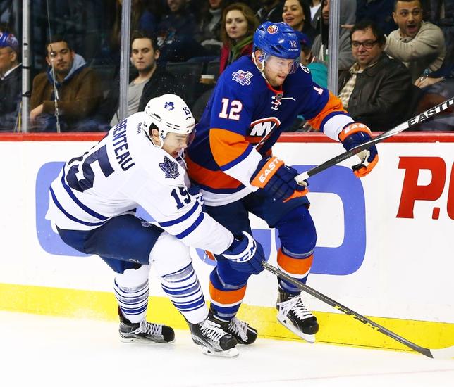 Toronto Maple Leafs vs. New York Islanders - 12/29/15 NHL Pick, Odds, and Prediction