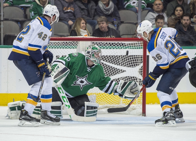 Blues vs. Stars - 2/16/16 NHL Pick, Odds, and Prediction
