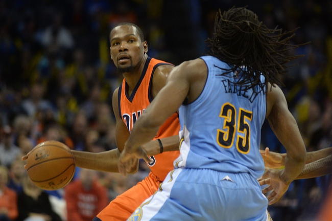 Denver Nuggets vs. Oklahoma City Thunder - 1/19/16 NBA Pick, Odds, and Prediction