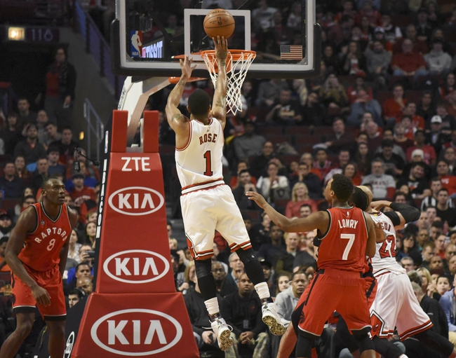 Bulls at Raptors - 1/3/16 NBA Pick, Odds, and Prediction
