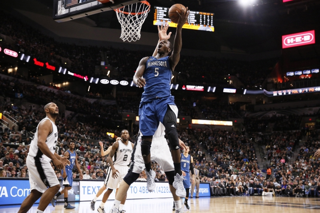 San Antonio Spurs at Minnesota Timberwolves - 3/8/16 NBA Pick, Odds, and Prediction