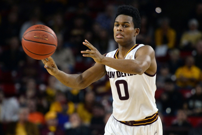 Arizona State vs. Arizona - 1/3/16 College Basketball Pick, Odds, and Prediction
