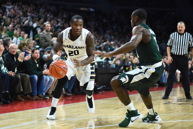 Oakland Grizzlies vs. Green Bay Phoenix - 2/13/16 College Basketball Pick, Odds, and Prediction