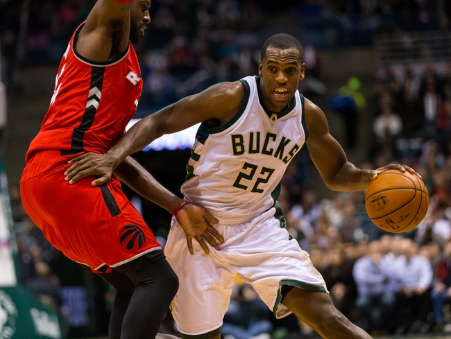 Bucks vs. Raptors - 3/15/16 NBA Pick, Odds, and Prediction