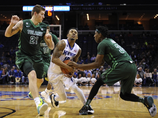 Tulane vs. Memphis - 2/13/16 College Basketball Pick, Odds, and Prediction