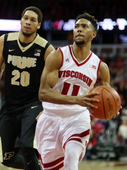Purdue Boilermakers vs. Wisconsin Badgers - 3/6/16 College Basketball Pick, Odds, and Prediction