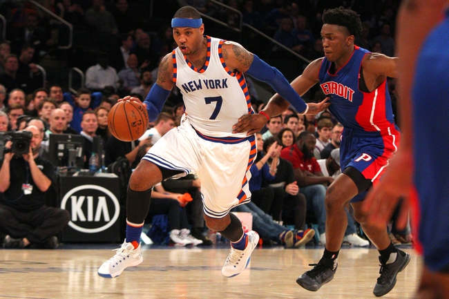 Detroit Pistons vs. New York Knicks - 2/4/16 NBA Pick, Odds, and Prediction