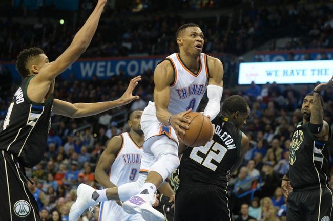 Oklahoma City Thunder at Milwaukee Bucks  - 3/6/16 NBA Pick, Odds, and Prediction