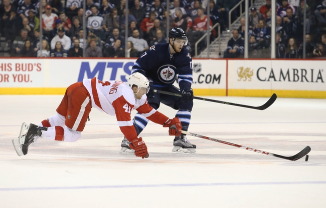Red Wings vs. Jets - 3/10/16 NHL Pick, Odds, and Prediction