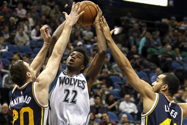 Jazz vs. Timberwolves - 1/29/16 NBA Pick, Odds, and Prediction