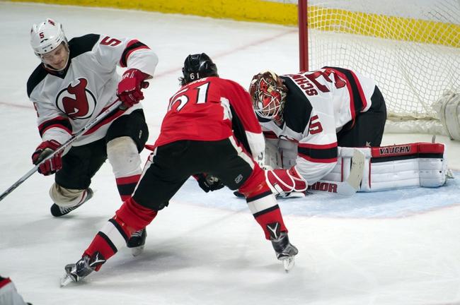 New Jersey Devils vs. Ottawa Senators - 1/21/16 NHL Pick, Odds, and Prediction