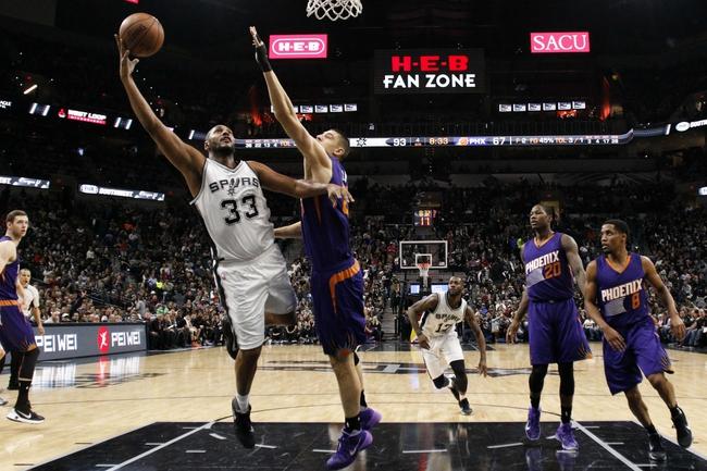 Phoenix Suns vs. San Antonio Spurs - 1/21/16 NBA Pick, Odds, and Prediction