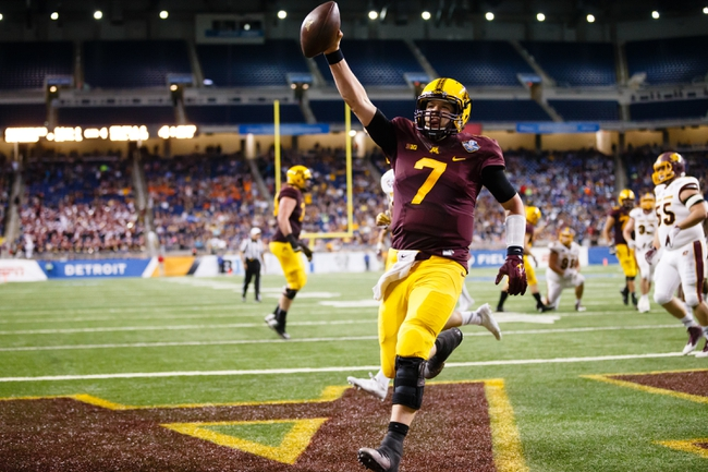 Oregon State Beavers at Minnesota Golden Gophers - 9/1/16 College Football Pick, Odds, and Prediction
