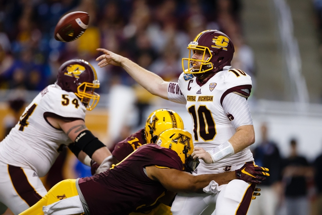Central Michigan Chippewas vs. UNLV Rebels - 9/17/16 College Football Pick, Odds, and Prediction