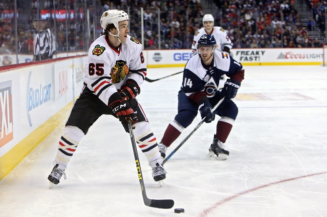 Chicago Blackhawks vs. Colorado Avalanche - 1/10/16 NHL Pick, Odds, and Prediction