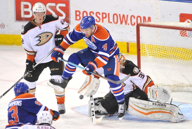 Oilers vs. Ducks - 2/16/16 NHL Pick, Odds, and Prediction