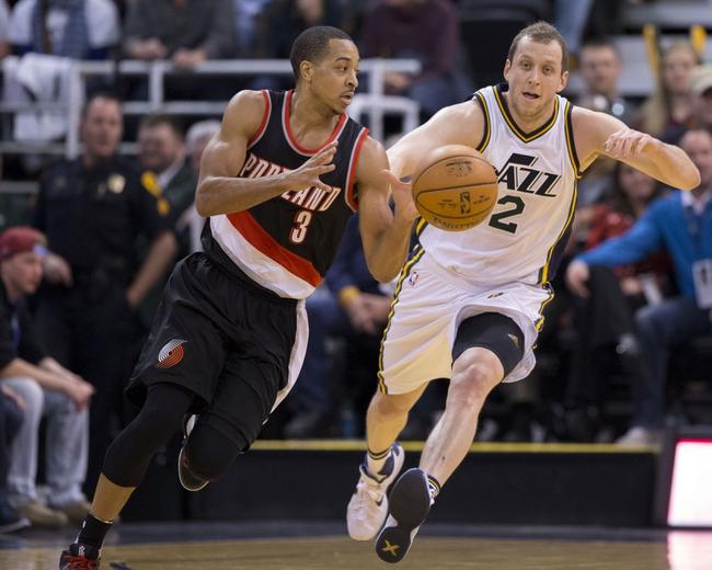 Portland Trail Blazers vs. Utah Jazz - 1/13/16 NBA Pick, Odds, and Prediction