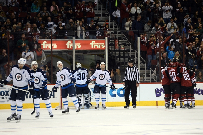 Jets vs. Coyotes - 1/26/16 NHL Pick, Odds, and Prediction
