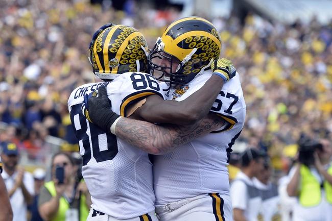 Michigan vs. Hawaii - 9/3/16 College Football Pick, Odds, and Prediction