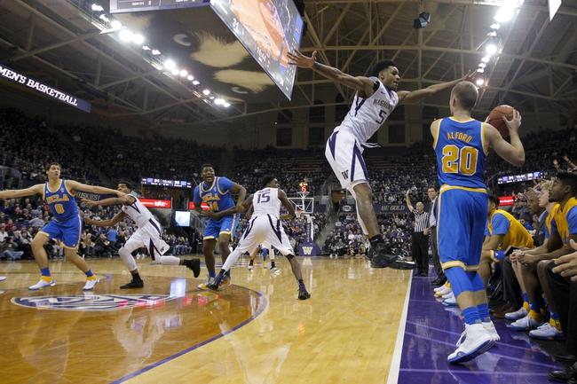 Washington Huskies vs. USC Trojans - 1/3/16 College Basketball Pick, Odds, and Prediction