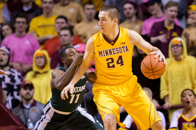 Minnesota vs. Northwestern - 1/9/16 College Basketball Pick, Odds, and Prediction