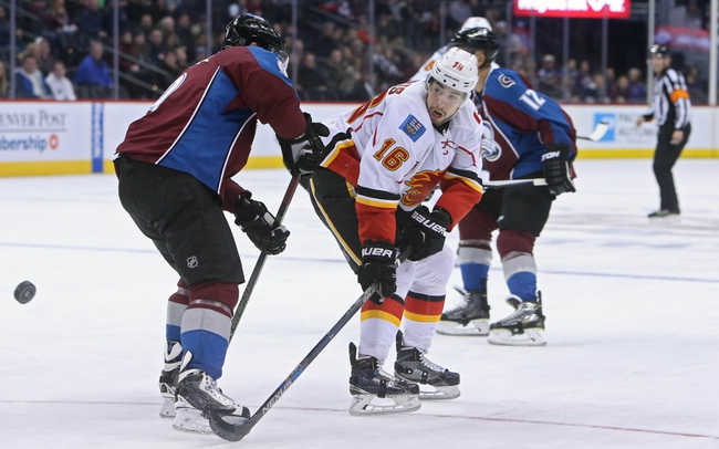 Calgary Flames vs. Colorado Avalanche - 3/18/16 NHL Pick, Odds, and Prediction