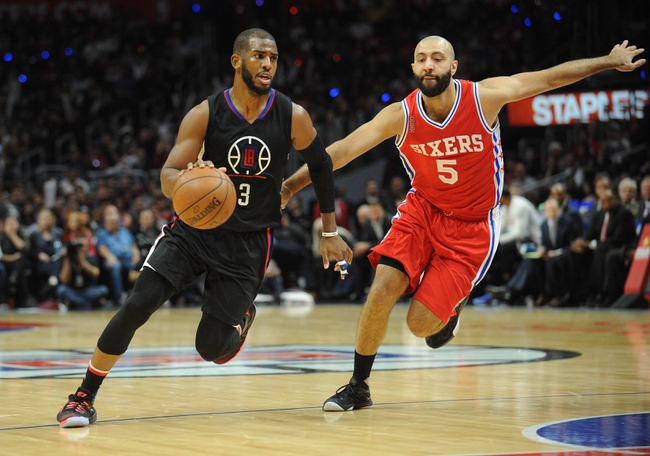 76ers vs. Clippers - 2/8/16 NBA Pick, Odds, and Prediction